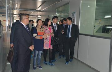 The Korea Institute of Industrial Technology lead by Mr.Zheng Guanrong visited HUASON