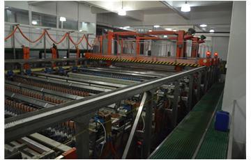 台湾競铭VCP垂直连续电镀设备